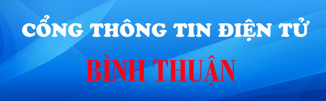Cổng Thông tin điện tử Bình Thuận